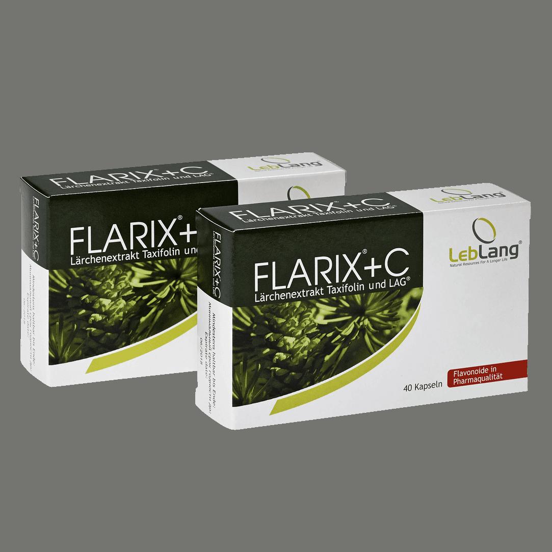 Flarix Taxifolin mit C-Kapseln Doppelpack