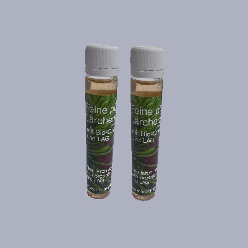 Feine pflegende basische Laerchenseife mit LAG und Laerchennadeloel-2x30ml